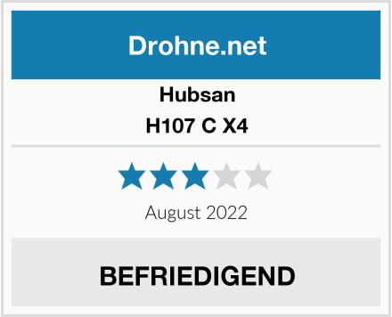 Hubsan H107 C X4 Test