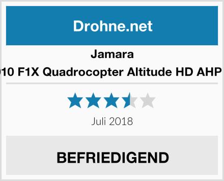 Jamara 422010 F1X Quadrocopter Altitude HD AHP Plus Test