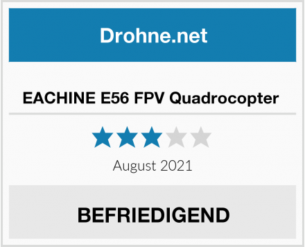 EACHINE E56 FPV Quadrocopter  Test