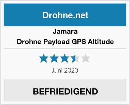 Jamara Drohne Payload GPS Altitude Test