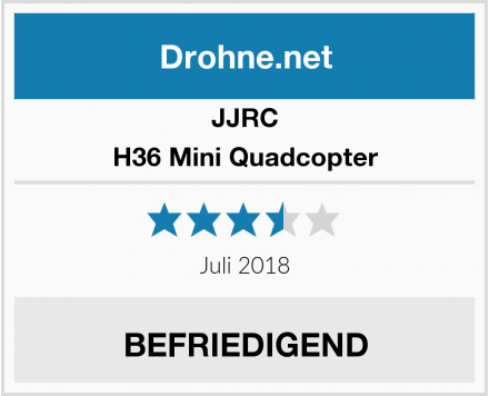 JJRC H36 Mini Quadcopter Test