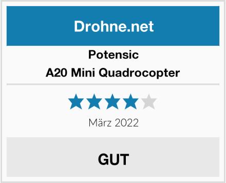 Potensic Mini Quadrocopter Test