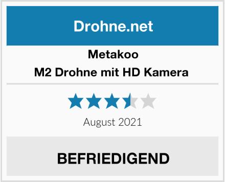 Metakoo M2 Drohne mit HD Kamera  Test