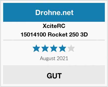 XciteRC 15014100 Rocket 250 3D Test