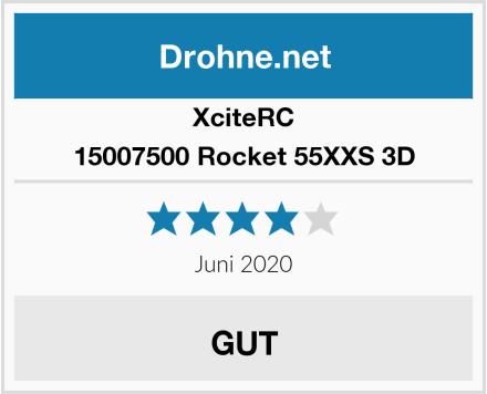 XciteRC 15007500 Rocket 55XXS 3D Test