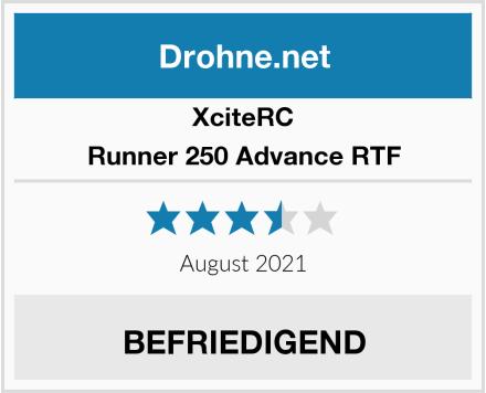XciteRC Runner 250 Advance RTF Test