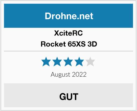XciteRC Rocket 65XS 3D Test