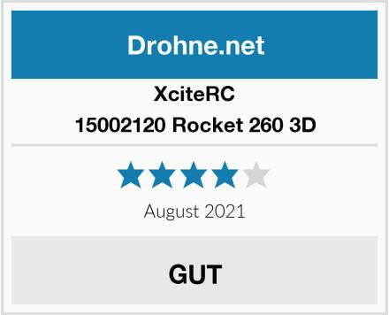 XciteRC 15002120 Rocket 260 3D Test