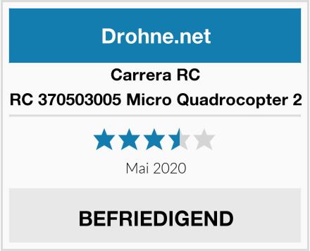 Carrera RC 370503005 Micro Quadrocopter 2 Test