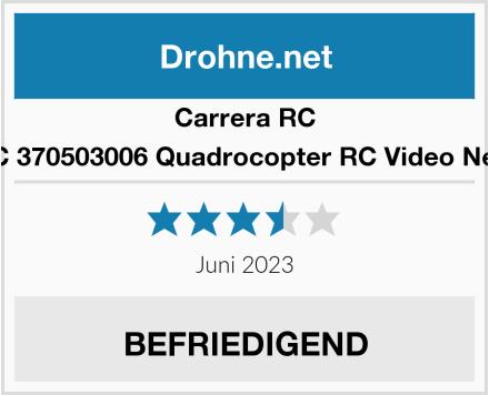 Carrera RC 370503006 Quadrocopter RC Video Next Test