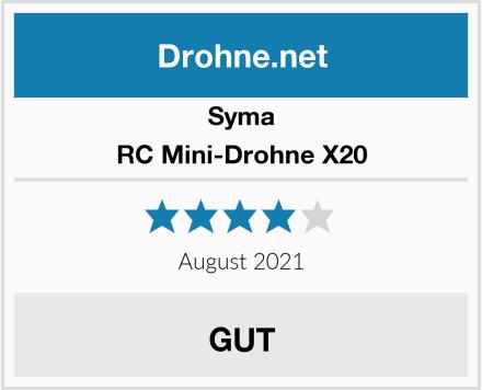 Syma RC Mini-Drohne X20 Test
