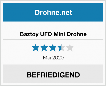 No Name Baztoy UFO Mini Drohne Test