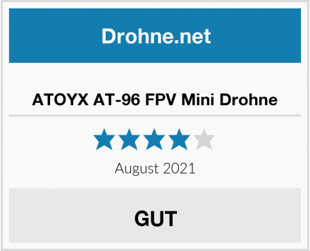 No Name ATOYX AT-96 FPV Mini Drohne Test