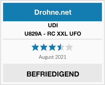 UDI U829A - RC XXL UFO Test