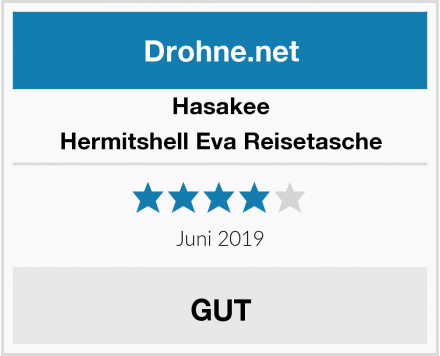 Hasakee Hermitshell Eva Reisetasche Test