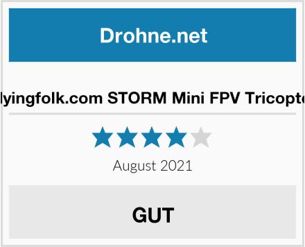 Flyingfolk.com STORM Mini FPV Tricopter Test