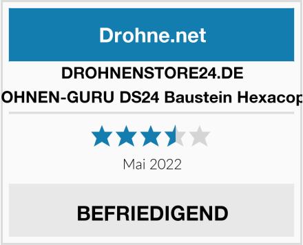 DROHNENSTORE24.DE DROHNEN-GURU DS24 Baustein Hexacopter Test