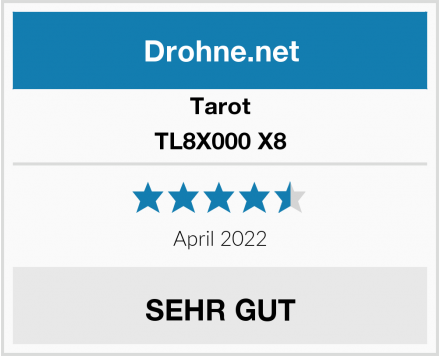 Tarot TL8X000 X8 Test