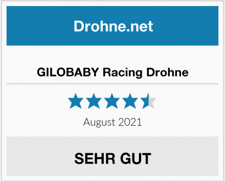 GILOBABY Racing Drohne Test