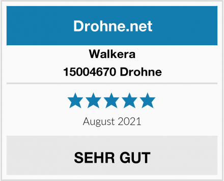 Walkera 15004670 Drohne Test