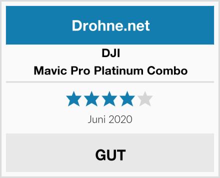 DJI Mavic Pro Platinum Combo Test