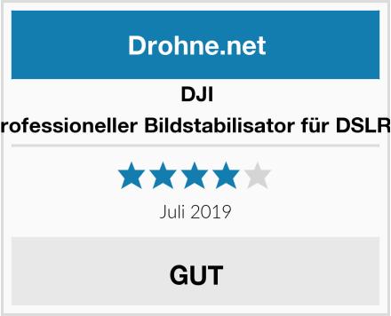 DJI Ronin-M - Professioneller Bildstabilisator für DSLR-Camcorder Test