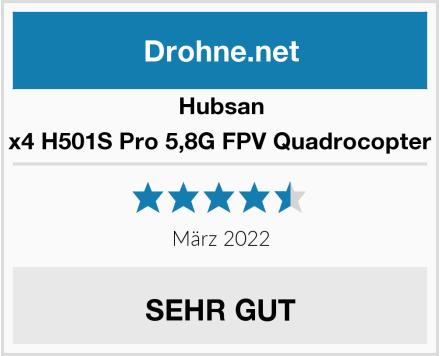 Hubsan x4 H501S Pro 5,8G FPV Quadrocopter Test