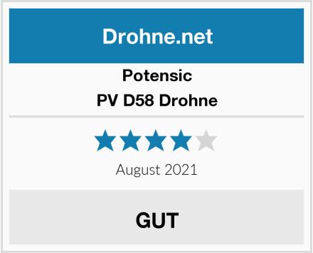 Potensic PV D58 Drohne Test