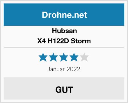 Hubsan X4 H122D Storm Test