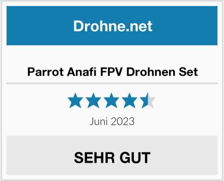 Parrot Anafi FPV Drohnen Set Test