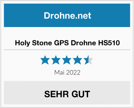 Holy Stone GPS Drohne HS510 Test