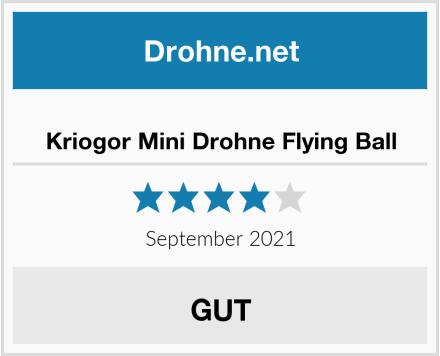 Kriogor Mini Drohne Flying Ball Test