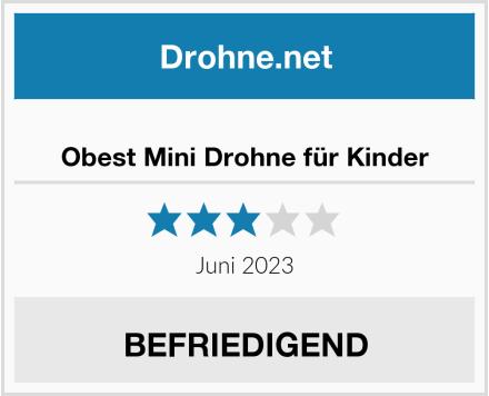 Obest Mini Drohne für Kinder Test
