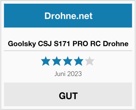 Goolsky CSJ S171 PRO RC Drohne Test