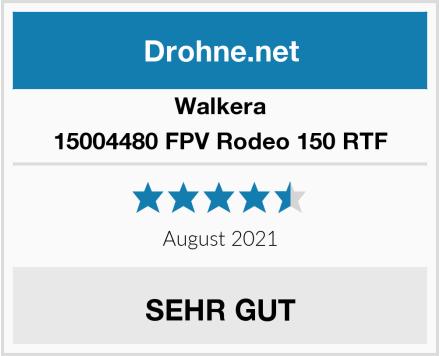 Walkera 15004480 FPV Rodeo 150 RTF Test