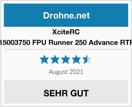 XciteRC 15003750 FPU Runner 250 Advance RTF Test
