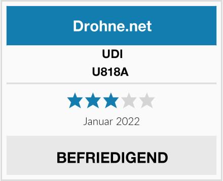 UDI U818A  Test
