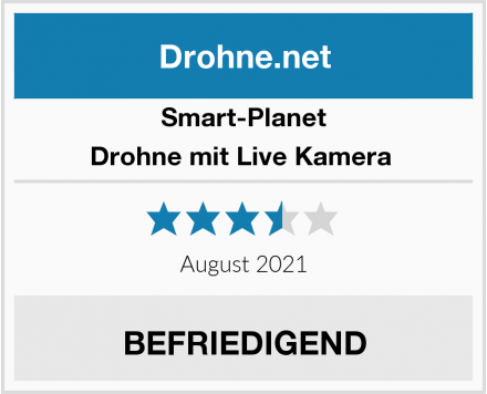 Smart-Planet Drohne mit Live Kamera  Test
