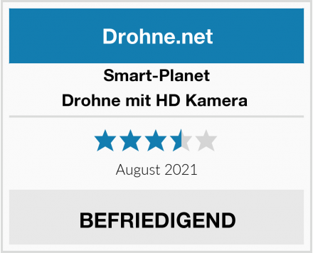 Smart-Planet Drohne mit HD Kamera  Test