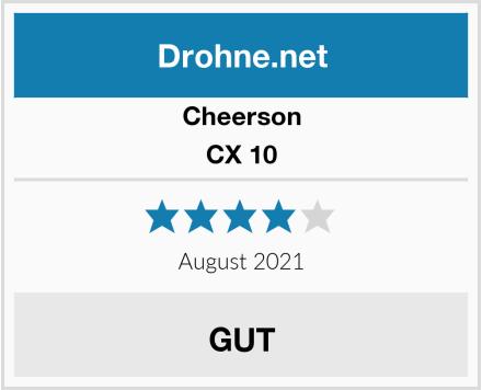 Cheerson CX 10 Test
