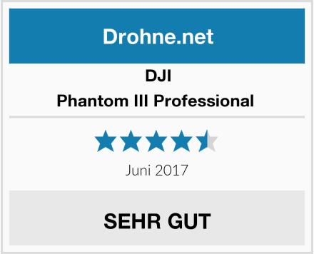 DJI Phantom III Professional  Test
