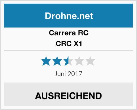 Carrera CRC X1 Test