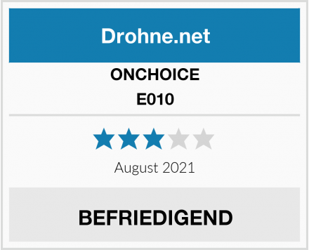 ONCHOICE E010 Test