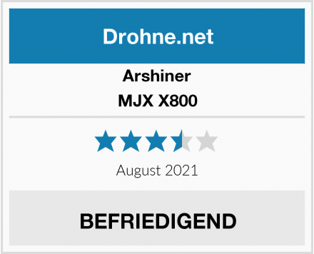 Arshiner MJX X800 Test