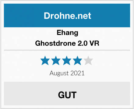 Ehang Ghostdrone 2.0 VR Test