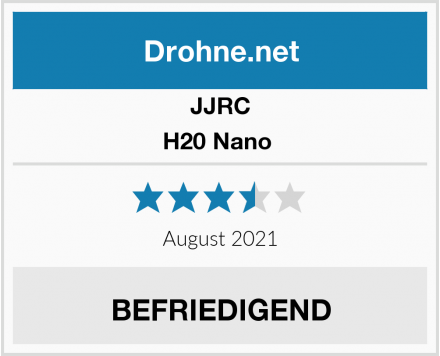 JJRC H20 Nano  Test