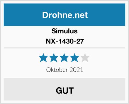 Simulus NX-1430-27 Test
