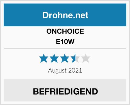 ONCHOICE E10W Test