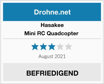 Hasakee Mini RC Quadcopter  Test