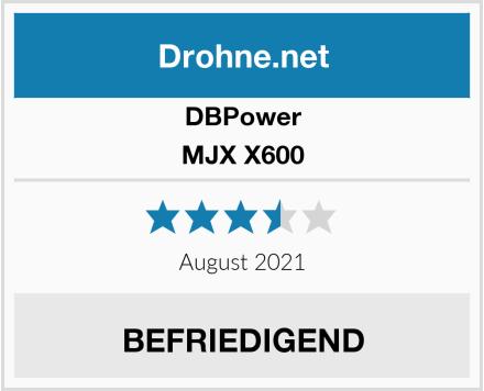 DBPower MJX X600 Test